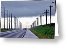 Power Lines57 Greeting Card