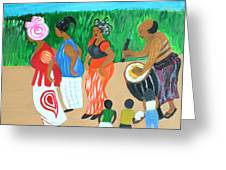 Power Of The Drum Greeting Card