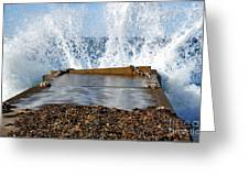 Power Of The Sea Greeting Card