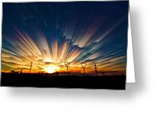 Power Source Greeting Card by Matt Molloy