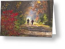 Power Walkers Greeting Card
