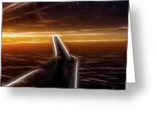 Powered Flight Greeting Card