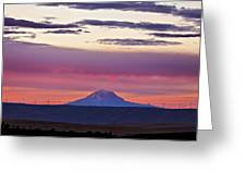 Powerful Sunset Greeting Card