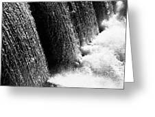 Powerful Waters Greeting Card