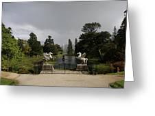 Powers Court Gardens - Ireland Greeting Card