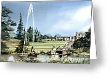 Powerscourt House, Enniskerry,  Co. Wicklow Greeting Card
