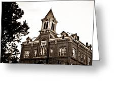 Powhatan Court House 2 Greeting Card