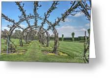 Powis Castle Garden Greeting Card