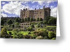Powis Castle Gardens Greeting Card
