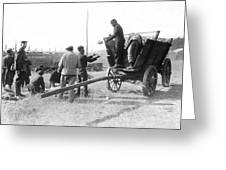 Pows Unload Cabbages For Lunch Greeting Card