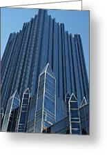 Ppg Place Pittsburgh Greeting Card