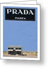Prada Marfa Texas Greeting Card by Jack Pumphrey