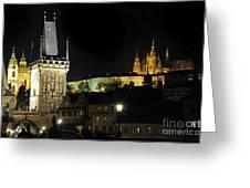 Prague 2 Greeting Card