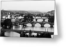 Prague Cityscape Greeting Card