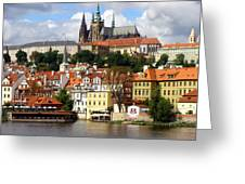 Prague Skyline Greeting Card