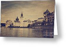Prague Greeting Card by Jelena Jovanovic