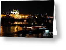 Prague National Theater Greeting Card