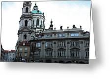 Prague Old Town - 02 Greeting Card