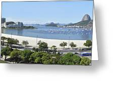Botafogo Beach Greeting Card