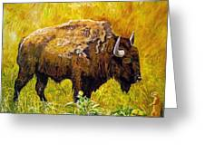 Prairie Companions Greeting Card