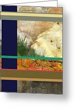 Prairie Grasses Amid The Rocks Greeting Card