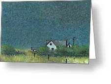 Prairie Homestead Greeting Card