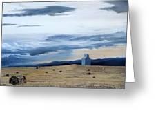 Prairie Storm Is Brewing Greeting Card