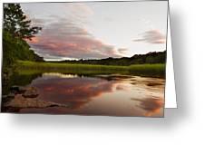 Pratt Cove Sunset Greeting Card