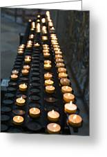 Prayer Candles Greeting Card