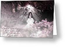 Praying Child Greeting Card