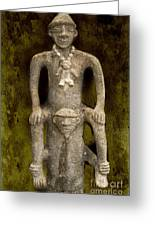 Pre-colombian Art Greeting Card