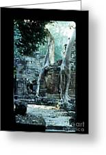 Preah Khan Temple 01 Greeting Card
