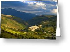 Preci Umbria Greeting Card