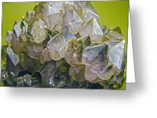 Precious Crystals Greeting Card
