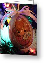 Precious Moments Christmas Ornament Greeting Card