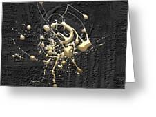 Precious Splashes - 4 Of 4 Greeting Card