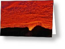 Predawn Dune Color Explosion 5 10/30 Greeting Card