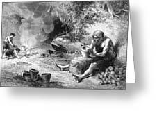 Prehistoric Potter Greeting Card