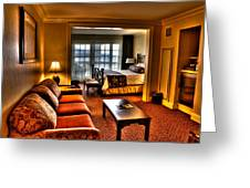 Premier Balcony Suite At The Sagamore Resort  Greeting Card