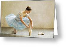 Preparation For Dance - D008548-a Greeting Card