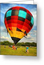 Prepare For Lift Off Greeting Card