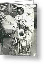 Preparing For Apollo 12 Lunar Mission Greeting Card