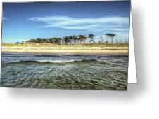 Prerow Beach Greeting Card