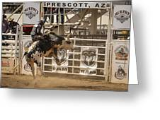 Prescott Az Rodeo Greeting Card
