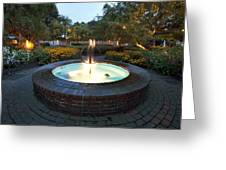 Prescott Fountain Greeting Card