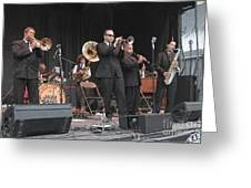 Preservation Hall Jazz Band Greeting Card