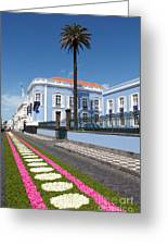 Presidential Palace - Azores Greeting Card