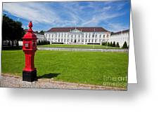 Presidential Palace Berlin Germany Greeting Card