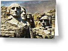 Presidential Rocks Greeting Card