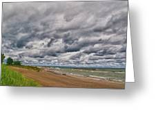 Presque Isle Beach 12061 Greeting Card